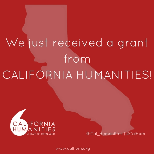 California Humanities Grantee Social Media Badge - RED